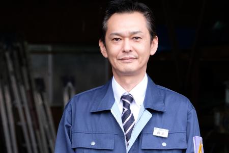 鈴木豪さん/警備 施設管理 課長