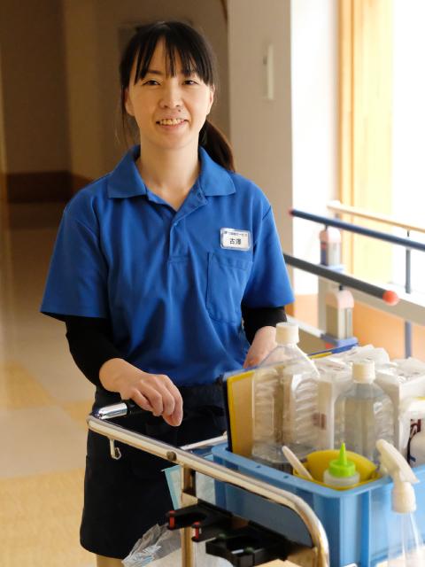 古澤美奈子さん 日常清掃