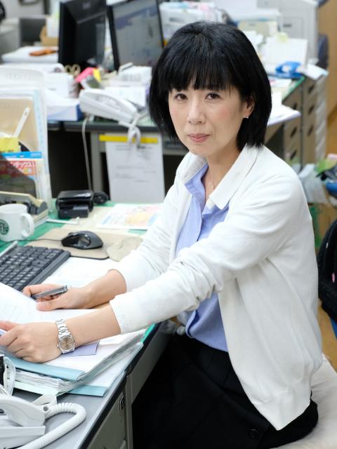 石添政子さん/総務部 広報 ISO 管理責任者