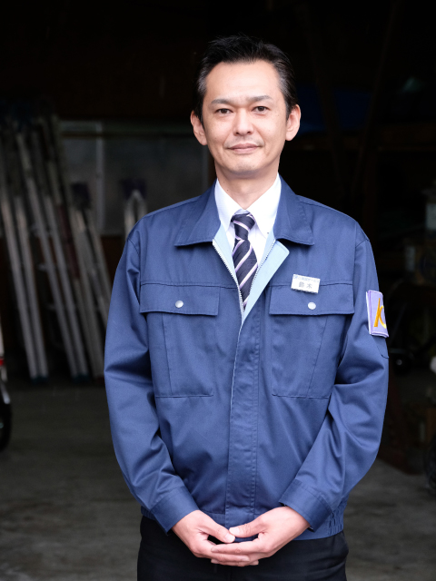 鈴木豪さん 警備 施設管理 課長